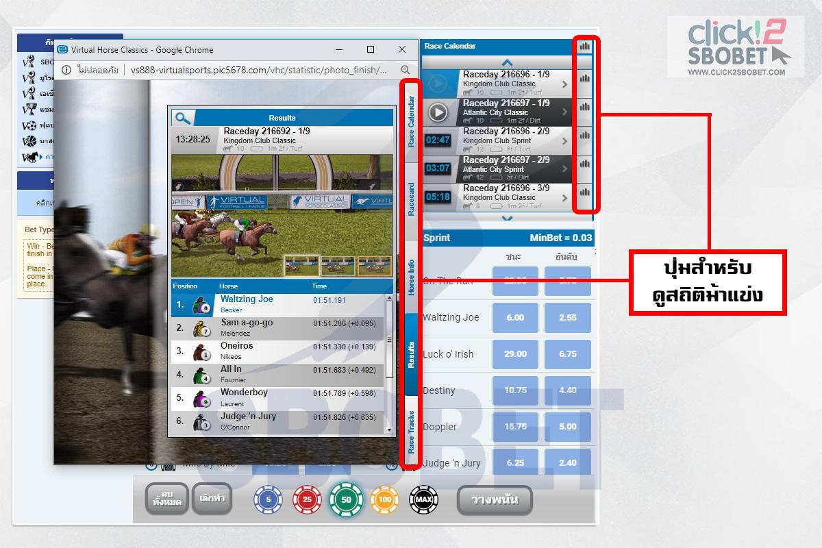 click2sbobet horse racing 04