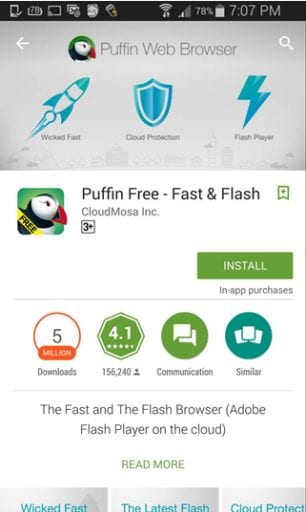 SBOBET Puffin Andriod
