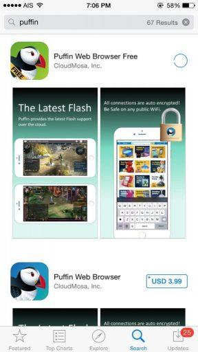 SBOBET Puffin iPhone iOS